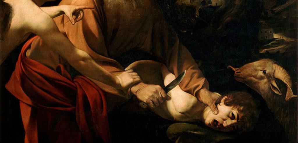 Do Sacrifice de Isaac, 1603, by Caravaggio.