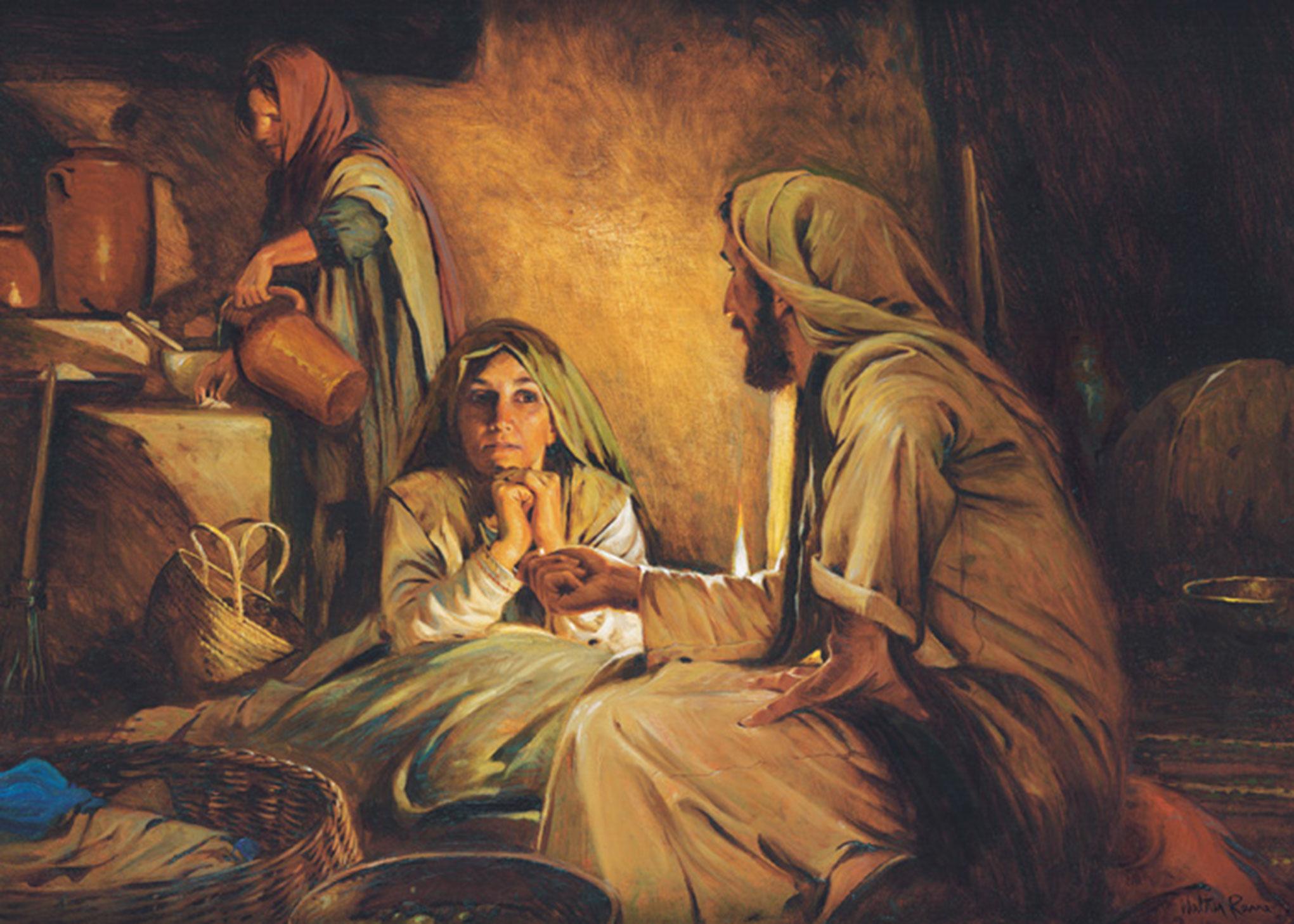 Kết quả hình ảnh cho bible mary and martha